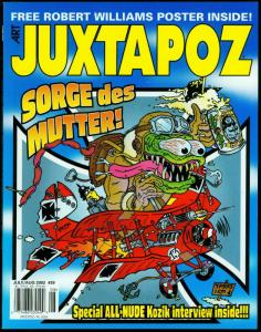 Juztapoz Magazine #39 2002- Robert Williams Poster- Kozik- Todd Shore NM