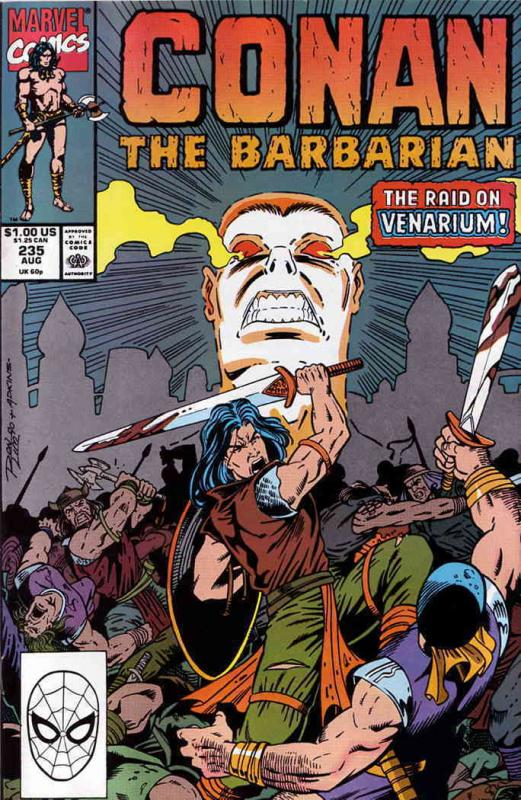 Conan the Barbarian #235 FN Marvel - save on shipping - details inside
