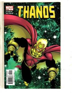 Lot Of 5 Thanos Marvel Comic Books # 2 3 4 5 6 Avengers Hulk Thor Iron Man MF10