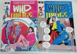 WILD THINGS (1986 ME) 1-3THE SET!