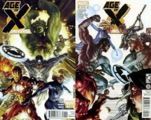 AGE OF X UNIVERSE (2011) 1-2  Mutants vs Avengers COMICS BOOK