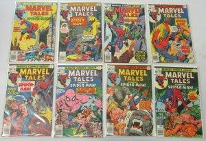 Marvel Tales starring:Spider-Man :#76-97 21 diff avg 5.0 range 4.0-6.0 (1977+78)