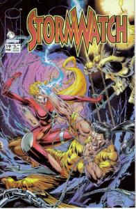 Stormwatch #19 VF/NM; Image | save on shipping - details inside