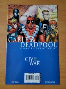 Cable & Deadpool #30 ~ NEAR MINT NM ~ 2006 Marvel Comics