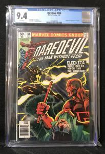 Daredevil #168 (Marvel, 1981) CGC 9.4 - 1st Elektra