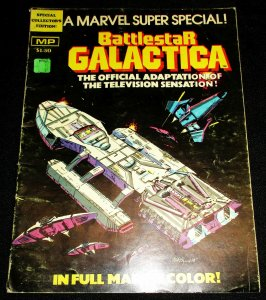 Marvel Super Special #8 Battlestar Galactica | Treasury Sized (1978) VG