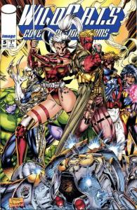 WildC.A.T.s #5 VF/NM; Image | save on shipping - details inside
