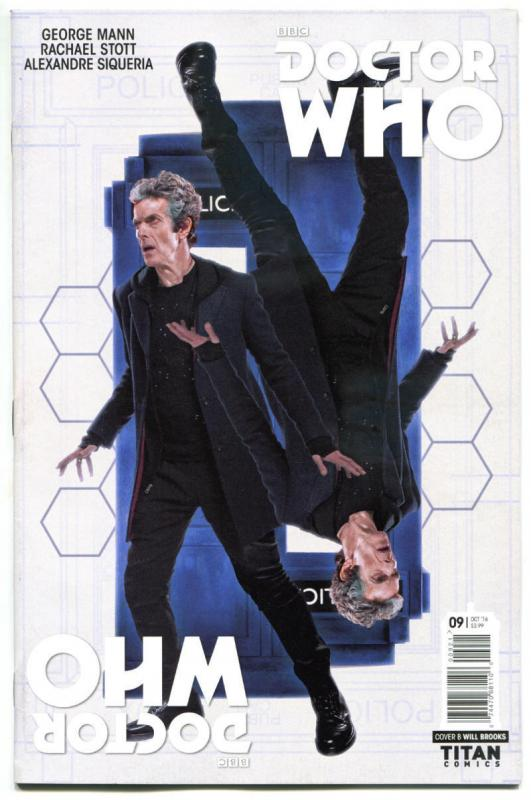 DOCTOR WHO #9 B, NM, 12th, Tardis, 2016, Titan, 1st, more DW in store, Sci-fi