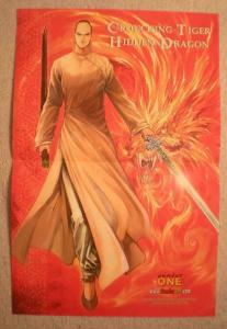 CROUCHING TIGER HIDDEN DRAGON Promo Poster, 2002, Unused, more in our store