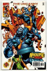 Uncanny X-Men #377 Apocalypse The Twelve (Marvel, 2000) VF/NM