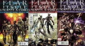 FEAR ITSELF UNCANNY X FORCE (2011) 1-3  Wolverine & co COMICS BOOK