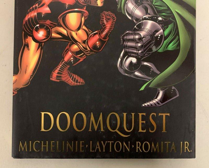 Iron Man Vs Doctor Doom Doomquest Marvel Premiere Edition Hardcover