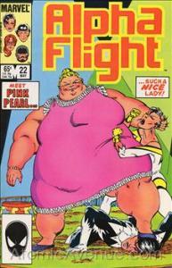 Marvel ALPHA FLIGHT (1983 Series) #22 VF