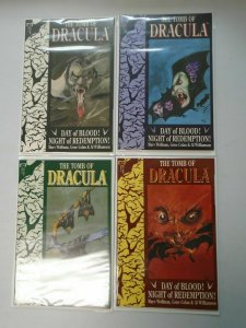Tomb of Dracula set #1-4 Day of Blood! Night of Redemption! 8.0 VF (1991 3rd Ser