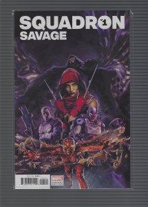 Heroes Reborn: Squadron Savage #1 Variant