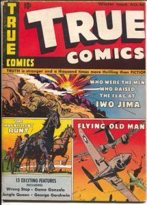 True #46 1945-Parents-Iwo Jima-George Gershwin-WWII stories-VG