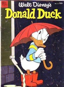 Donald Duck #35 (Jun-54) GD Affordable-Grade Donald Duck