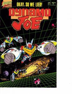 Lot Of 2 Comic Books First Dynamo Joe #4 and Classics Fall of House Usher  WT21