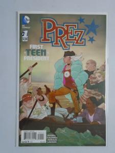 Prez (2nd Series) #1A, VF , (2015)
