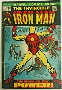 INVINCIBLE IRON MAN#47 VG/FN 1972 BARRY SMITH ART MARVEL BRONZE AGE COMICS