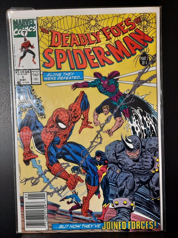Deadly Foes of Spider-Man #1 (1991)VF