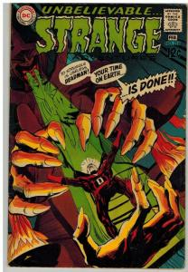 STRANGE ADVENTURES 216 VG-F Feb. 1969  ADAMS DEADMAN