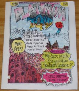 Platinum Toad #10 VF underground comix  signed & numbered by romero (#36 of 250)