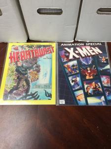 X-Men Animation Special Heartburst 10 Graphic Novel 2 Issue Lot Nm Near Mint