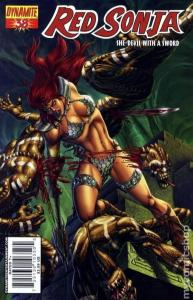 Red Sonja #38 (Dynamite) - Pablo Marcos Cover
