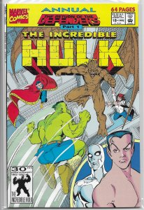 Incredible Hulk   vol. 1  Annual   #18 FR/GD (Return of the Defenders 1) Maguire