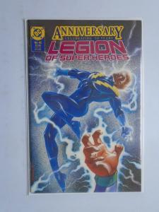 Legion of Super-Heroes (3rd Series) #45, 50th Anniversary LOSH, 8.5/VF+ (1988)