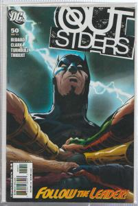 OUTSIDERS #50 - DC COMIC  - BATMAN - BAGGED,& BOARDED