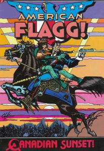 American Flagg #15 VF; First | save on shipping - details inside