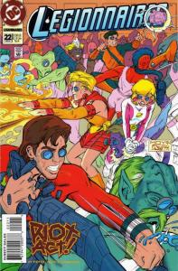 Legionnaires #22 VF/NM; DC | save on shipping - details inside