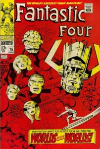 Fantastic Four #75 (ungraded) stock photo / SCM