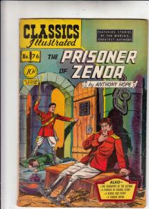 Classics Illustrated #76 (Oct-50) VG+ Affordable-Grade