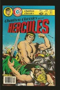 Charlton Comics Classics Hercules Vol 1 No 1 April 1980