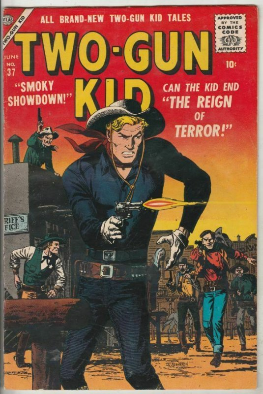 Two-Gun Kid #37 (Jun-57) VF/NM High-Grade Two-Gun Kid