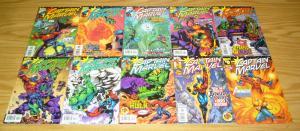 Captain Marvel #0 & 1-35 VF/NM complete series - peter david - thanos - 20 21