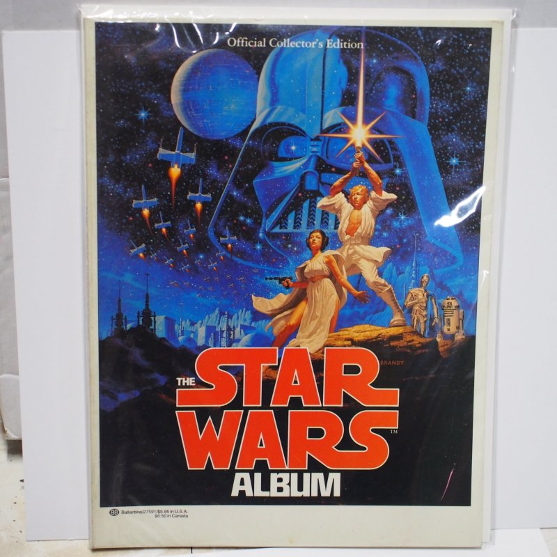 The Star Wars Album Official Collector's Edition 1977 Very Fine Condition