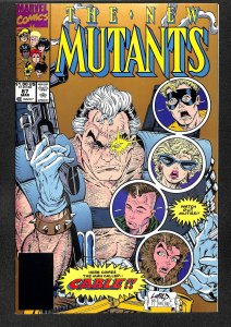 New Mutants #87 1st Cable! REPRINT