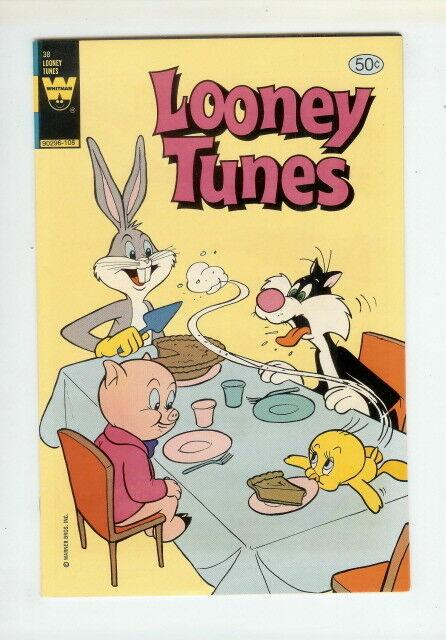 LOONEY TUNES (GOLD KEY/WHITMAN) 38 VF-NM BUGS BUNNY COMICS BOOK