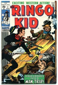 RINGO KID #2, VF-, Gunfights, 1970, Severin, Man Trap, more Western in store