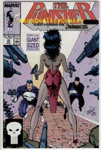 PUNISHER #25, NM, Mike Baron, Shadowmasters,1987, more Marvel in store