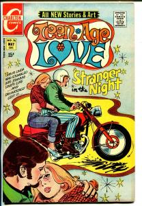 Teen-Age Love #76 1972-Charlton-motorcycle cover & story-good art-VG-