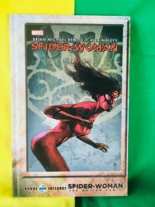 Spider-Woman Agent of S.W.O.R.D. Hardcover Graphic Novel includes DVD