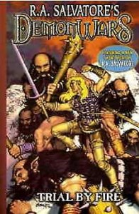 DemonWars: Trial by Fire (R.A. Salvatore's…) TPB #1 VF/NM; CrossGen | save on sh