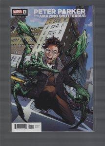 Heroes Reborn: Peter Parker, The Amazing Shutterbug #1 Variant
