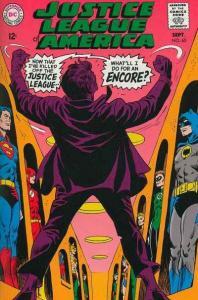 Justice League of America (1960 series) #65, Fine- (Stock photo)