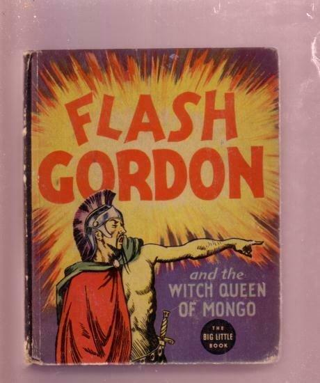 FLASH GORDON WITCH QUEEN OF MONGO RAYMOND #1190 BLB '36 FN